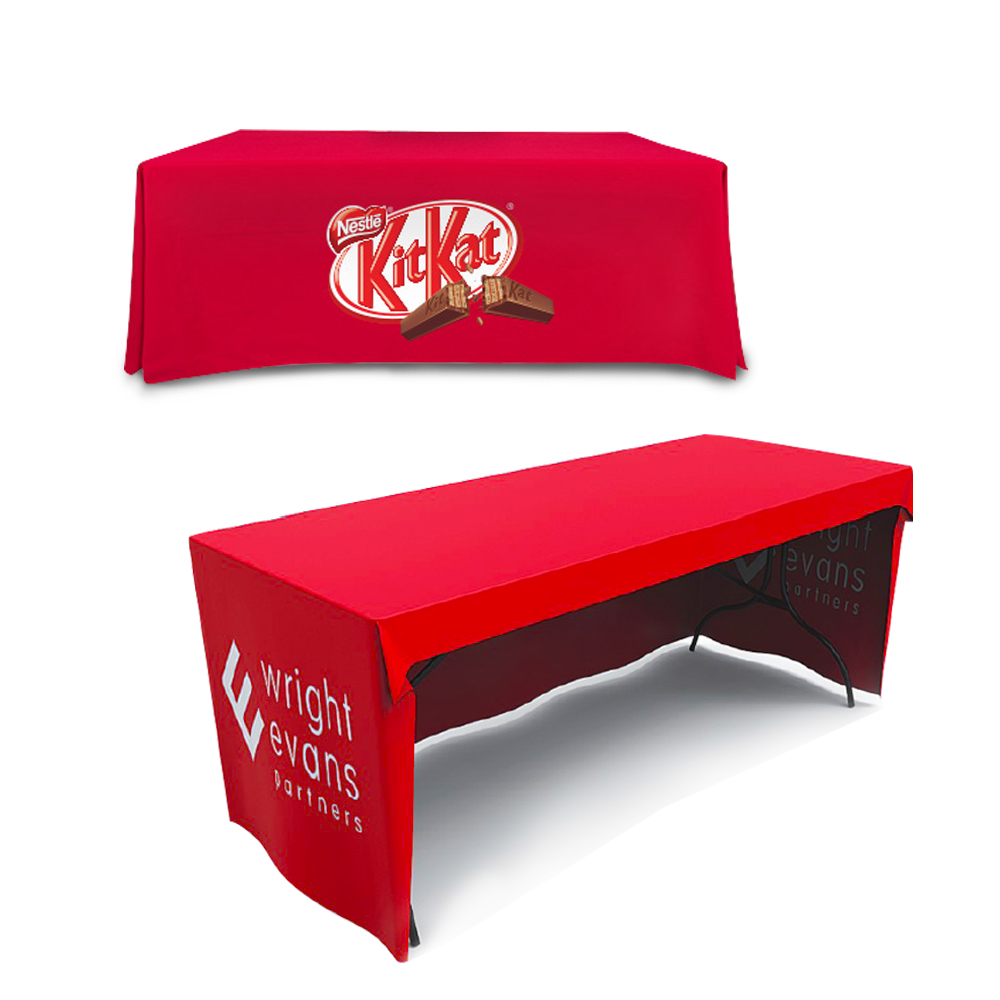 Table throw table cloth table cover display system for Table th row group